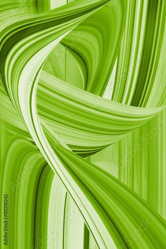 Fototapeta Hintergrund grün Linien