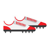 football boot flat icon