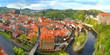 Cesky Krumlov, Czechy, Panorama