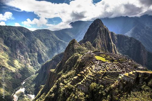Foto Murales Nice view of Machu Picchu, Peru, South America