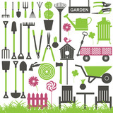 Gardening related vector icons 7 - 110294662