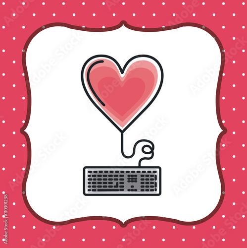 Zdjęcia na płótnie, fototapety, obrazy : heart love design