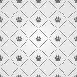 Modern Animal footprint pattern. Background. Vector