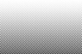 Medium dots halftone vector background. Overlay texture. - 110412490