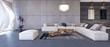 Modern interior design of living room (3d Render) - 110416688