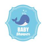 Baby Shower design. Invitation concep. Colorful illustration