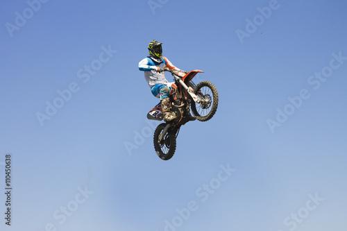 Naklejka motocross motorcycle sport