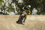 Fototapety motocross motorcycle sport