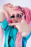 Fototapety Modern teenage girl