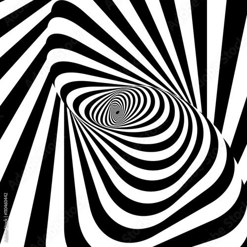 Naklejka Abstract spirally stripes background
