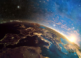 Fototapety Detailed colorful Earth,