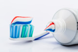 Fototapety Toothbrush and toothpaste