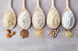 Various gluten free flour - 110502284