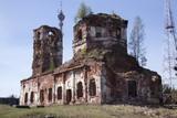 Разрушенная церковь в Салми, Карелия