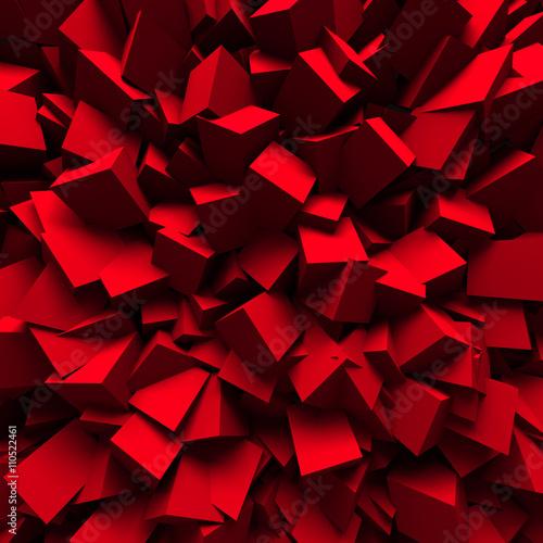 czerwone-bliki-3d