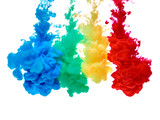 paint in water color liquid