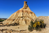 Bardenas Reales natural park in Navara Spain