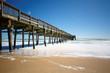 Sandbridge Beach Fishing Pier, Virginia Beach, Virginia, USA
