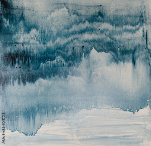watercolor drips. Abstract painting. Oil on canvas. Background texture - 110657085