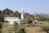 Mosque in the highlands of Ras Al Khaimah, united Arab Emirates