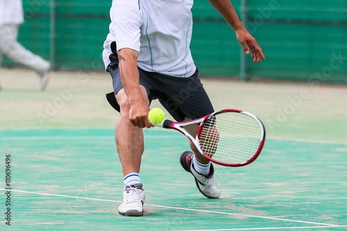 Fotobehang Tennis テニス
