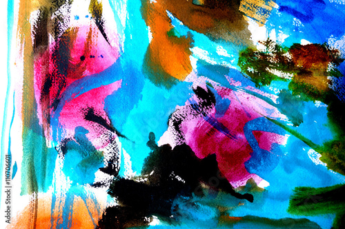 abstract paint background design - 110706601