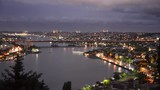 Istanbul halic bridge from pierre loti hil.