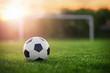"""Detaily fotografie Soccer sunset / Football in the sunset 110677556,flying gift boxes on white. 3d rendering."""""""