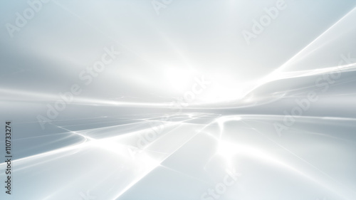 białe futurystyczne tło