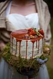 Свадебный торт в лесу