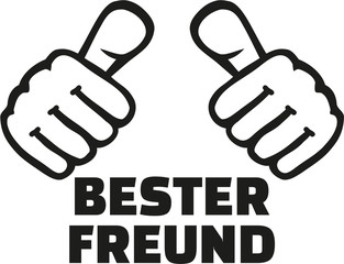Very best friend german with thumbs