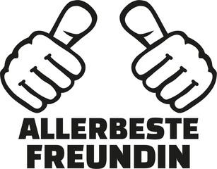 Very best girlfriend german with thumbs