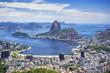 Quadro Sugar Loaf Mountain in Rio de Janeiro, Brazil.