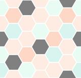 Hexagon Seamless Pattern - 110781220