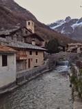 Il Varaita a chianale, tipica veduta alpina