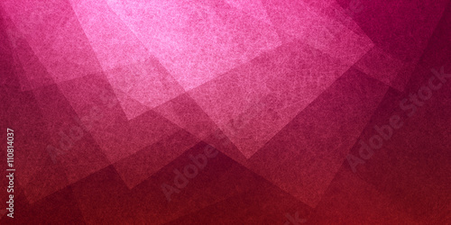 abstract pink background with layers of transparent shapes in random pattern, cool modern background design for website or graphic art projects