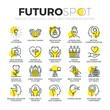 Detaily fotografie Conscious Living Futuro Spot Icons