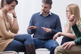 Group therapy session can help express emotions