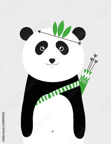I am brave panda - 110889028