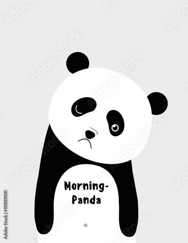 I am morning panda - 110889041