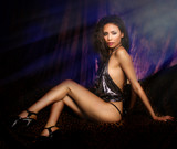 Beautiful woman sexy legs
