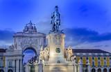 Praça do Comercio em Lisboa Portugal