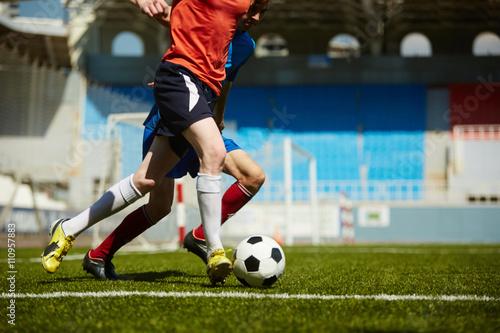 Aluminium Voetbal Energetic struggle