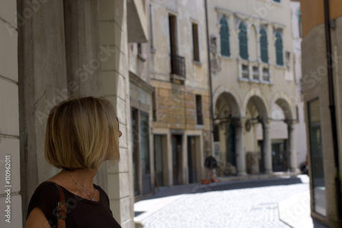 Poster I vicoli veneziani delle città venete