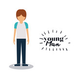 young man design