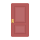 Door icon of vector illustration for web and mobile - 110984871