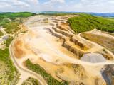 Biggest Czech limestone quarry Devil