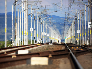 New railway tracks
