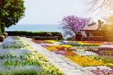 Bulgaria, Balchik Palace, Spring Blossom