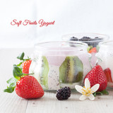 Delicious Soft Fruits Yogurt
